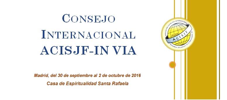Consejo Internacional ACISJF In Vía
