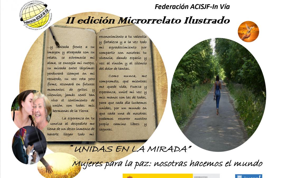 """30/12/2019 Elección del microrrelato ganador: Mujeres para la Paz """"UNIDAS EN LA MIRADA"""""""