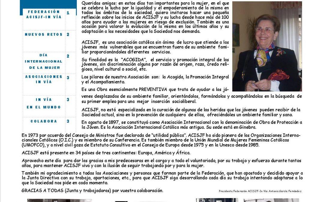 06/03/2020 Boletín Federación ACISJF-In Vía