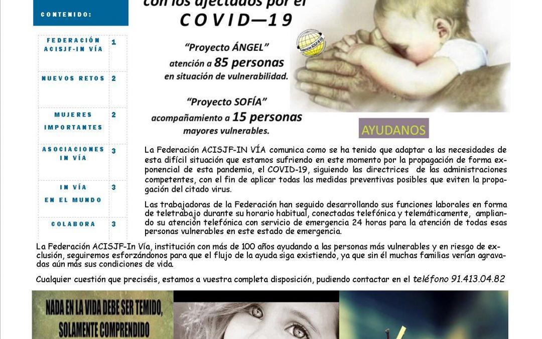 01/06/2020 Boletín Federación ACISJF In Vía