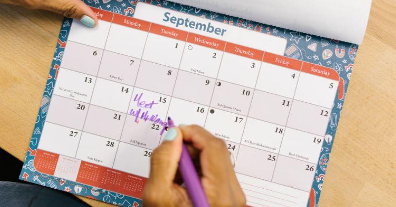 Septiembre, con S de Seguir adelante